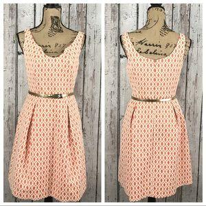 Trina Turk Belted Dress Size 6